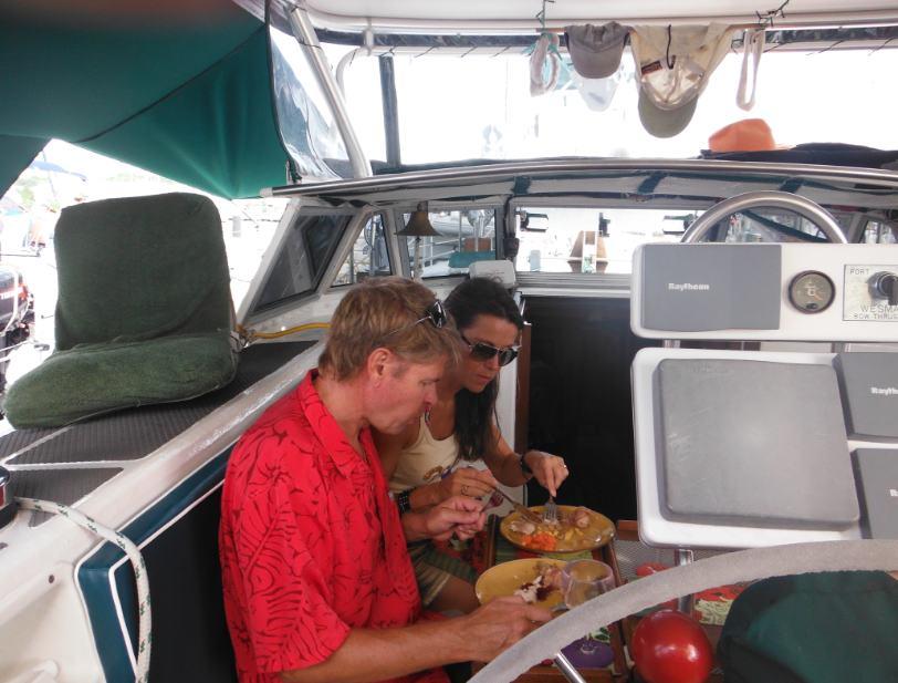 Sailing Vessel (SV) JOANA and her Crew - 2012 Ships Log